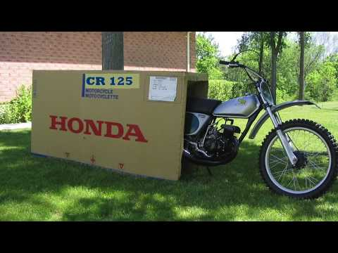 1974 Honda Elsinore CR 125 restoration