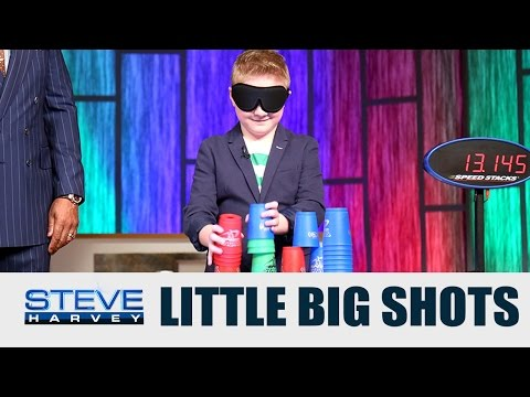 Little Big Shots: PJ the Sport Stacker || STEVE HARVEY