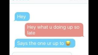 Creepy text messages