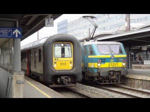 Belguim Rail Brussels South 02 03 2016