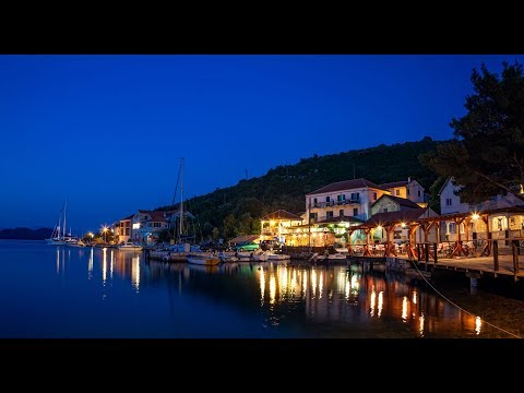 Sailing Adriatic Sea Croatia , Beautiful Mljet, Sipan, Korcula Islands