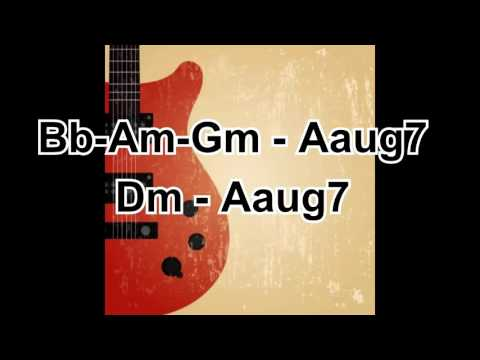 Smooth Jazz Play along, Jazz backing track in Dm