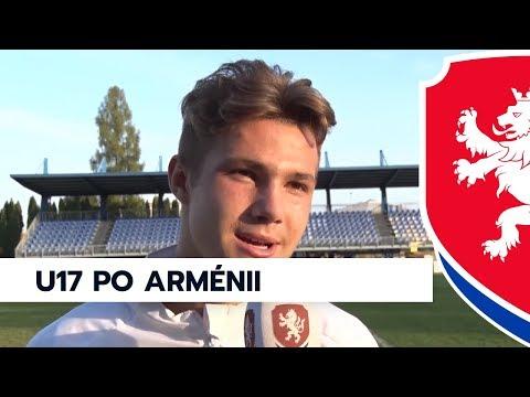 U17 porazila Arménii v kvalifikaci ME 2018