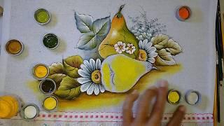 Aprenda a Pintar Pétalas – Folhas e Acabamentos