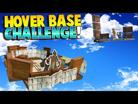 FUN HOVER BASE CHALLENGE! BUILDING A FLOATING BASE! - Garry's Mod Gameplay - Gmod (Kid Friendly Fun)
