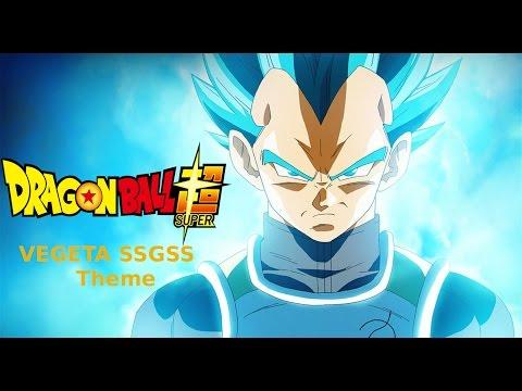 Dragon ball super SSGSS/SSB vegeta theme