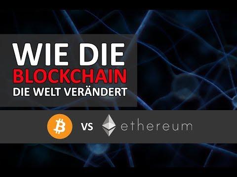 Wie die Blockchain die Welt verändert (Bitcoins vs Ethers) - Donnerstalk #4