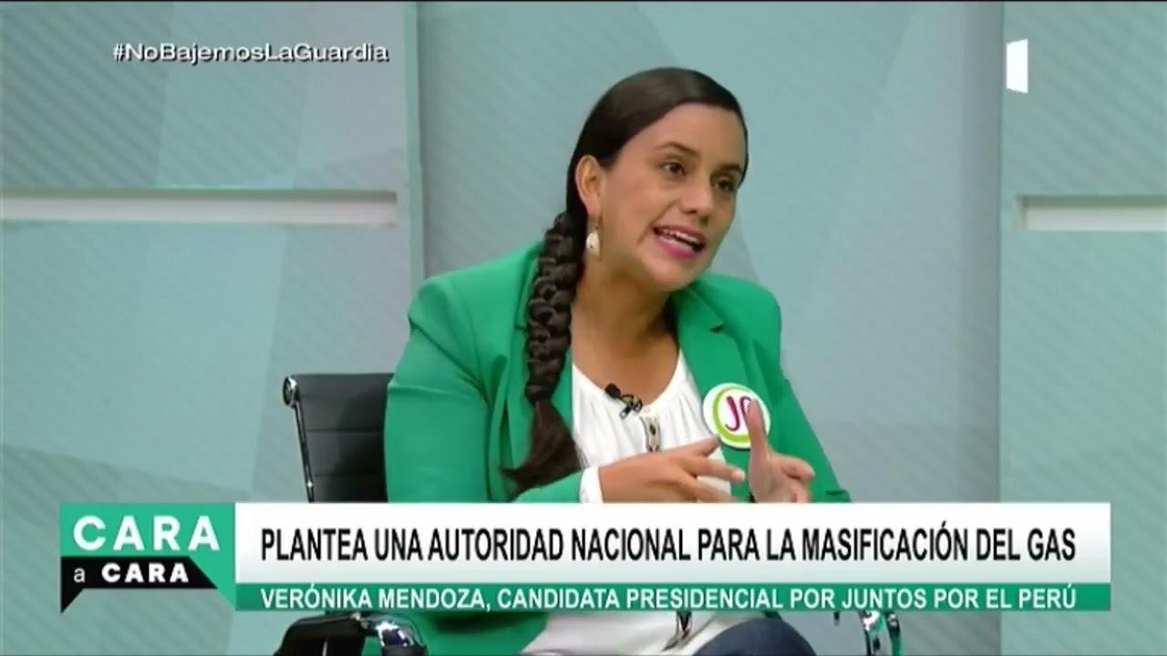 ENTREVISTA| Verónika Mendoza, candidata presidencial de Juntos por el Perú  - YouTube