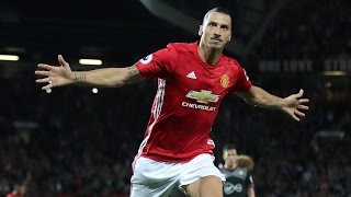 Manchester United 2-0 Southampton | Goals; Zlatan Ibrahimovic (2) | REVIEW