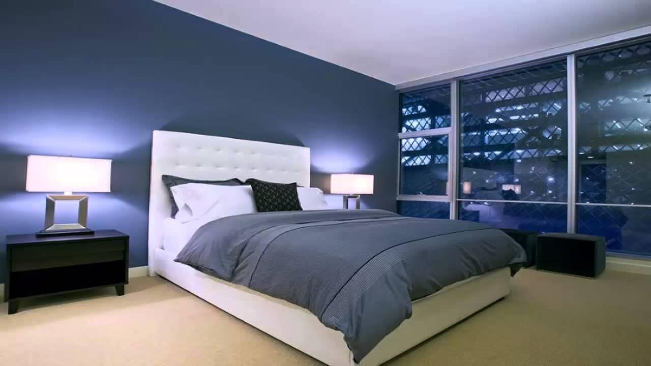 غرف نوم زرقاء اللون Youtube