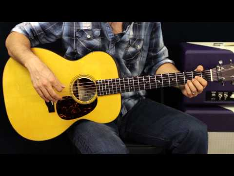 How To Play - Blackberry Smoke - Pretty Little Lie - Acoustic Guitar Lesson - EASY