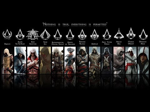 Assassin's Creed All Cinematic Trailers (2007 - 2019)