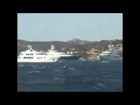 Monaco Yacht Club ADNAN KHASHOGGI NABILA + GERALD CARROLL SANS PEUR II Royal Family Affair