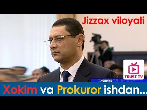Mirziyoyev JIZZAX XOKIMini ishdan oldi!
