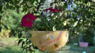 30 необычных  цветочных горшков своими руками