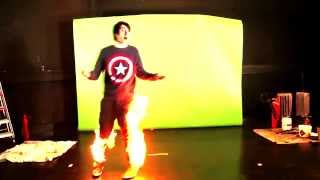 THIS //DAN// IS ON FIRE