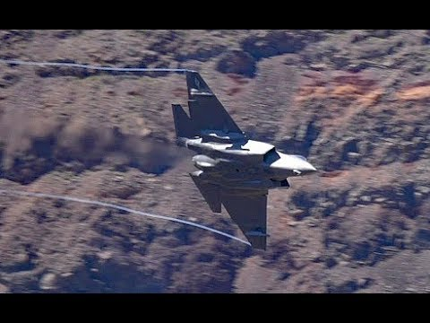 Fast Jets In Star Wars Canyon  -- May 2019