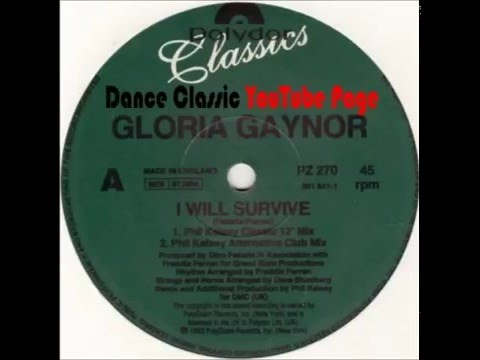 Gloria Gaynor  I Will Survive A Phil Kelsey Classic Mix  For DMC UK