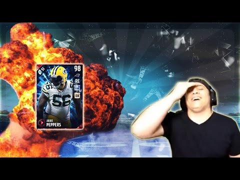 OBJ MAKING SPECIAL PLAYS! (99 JULIUS PEPPERS GAMEPLAY) - MADDEN 17 ULTIMATE TEAM