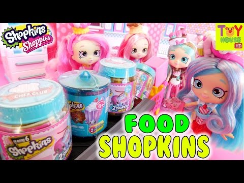 Chef Club Shoppies NEW SEASON 6 SHOPKINS &...