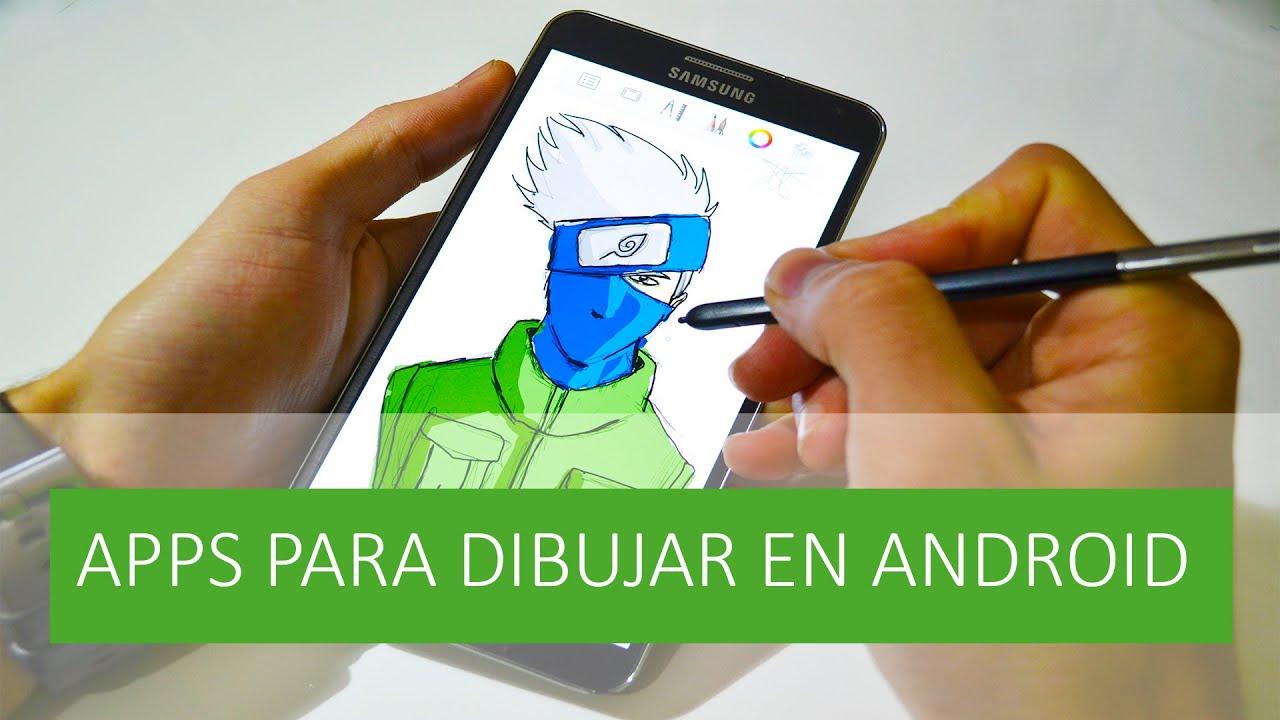 Las mejores apps para dibujar en android youtube for Programas para dibujar