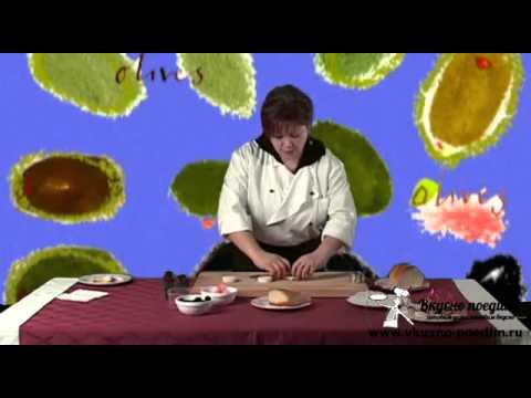 Канапе с масляной рыбой - www.vkusno-poedim.ru