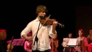 Alexander Rybak & Natalia Rybak  'Song From A Secret Garden' Rommen Scene 20.05.11