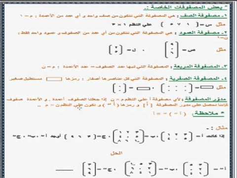 حل كتاب الرياضيات اول ثانوي مقررات اختبار الفصل