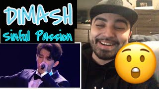 Reaction to Dimash Sinful Passion