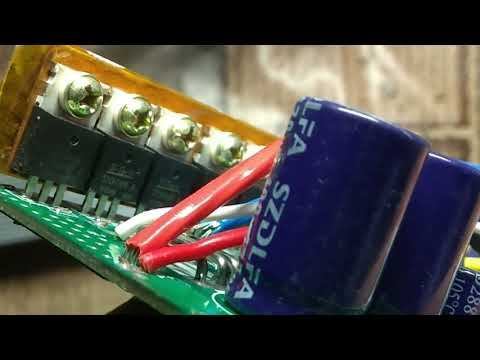 BLDC контроллер 48 V-72 V 2000W 60A с AliExpress