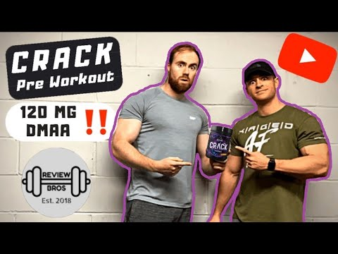 🔴 CRACK PREWORKOUT | 120MG DMAA | STRONGEST PREWORKOUT IN THE WORLD?!