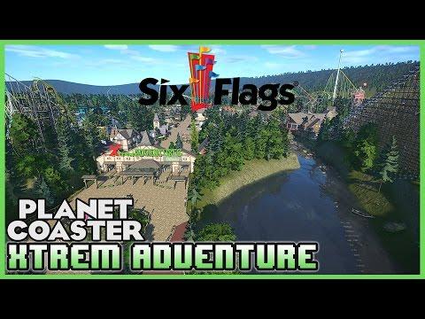 SIXFLAGS! Xtrem Adventure! Park Spotlight 38 #PlanetCoaster