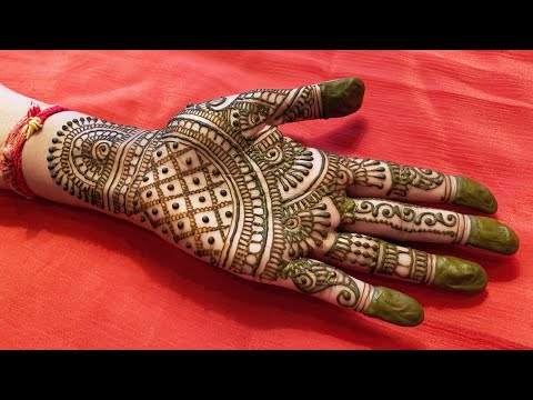 LATEST FULL HAND INDIAN MEHNDI DESIGN 2019