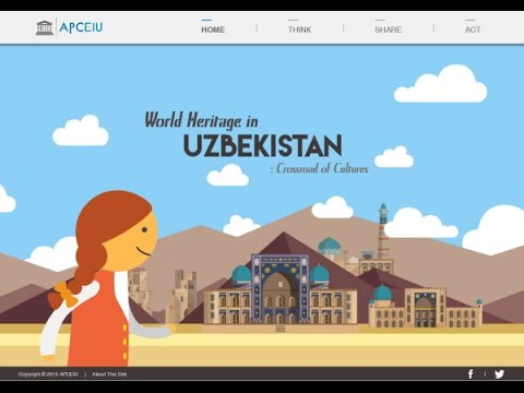 World Heritage in Uzbekistan: Crossroad of Cultures