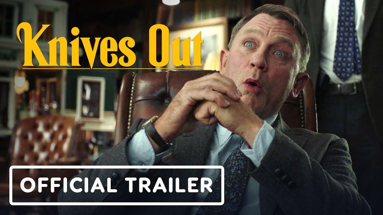 Knives Out - Official Trailer (2019) Daniel Craig, Jamie Lee Curtis