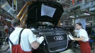 Audi Werk Gyoer Produktion