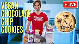 Bake Vegan Chocolate Chip Cookies With Me!