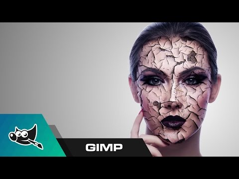 GIMP Tutorial: Cracked And Peeling Skin