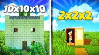 MINI DOMY W ROZMIARACH OD 10x10 do 2x2!