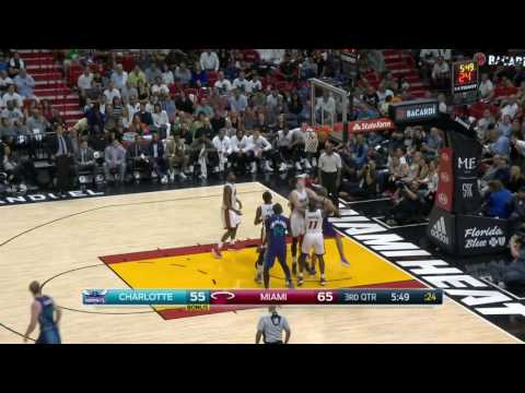 Charlotte Hornets vs Miami Heat | October 28, 2016 | NBA 2016-17 Season