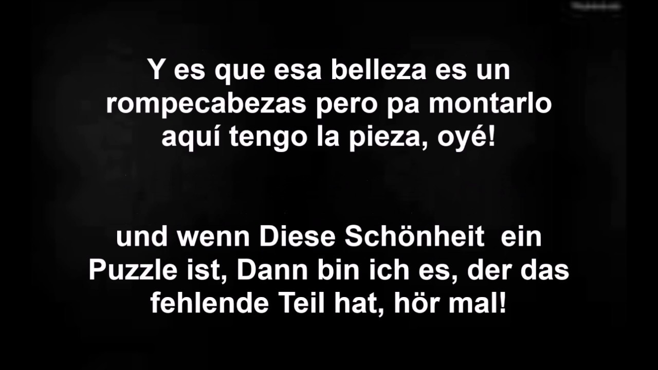 Luis Fonsi Despacito Ft Daddy Yankee Con Letras Espanoldeutsch