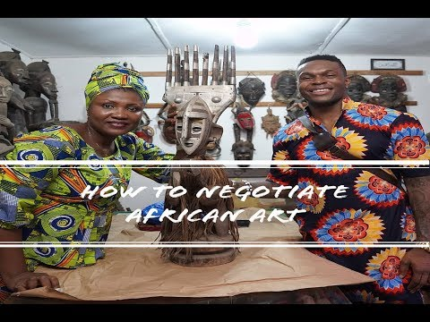 How To Negotiate Buying Art In Africa: Ivory Coast Edition