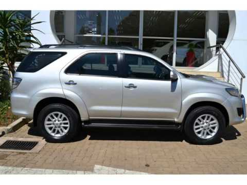 2012 Toyota Fortuner 2 5 D4d 4x2 Manual Auto For Sale On