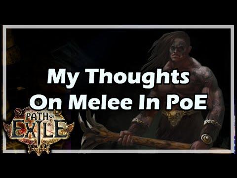 Melee Builds Poe Youtube