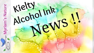 139]  KIELTY Alcohol Inks - Awesome News for those in the US !!