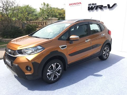 Honda WRV Launched In India - Walkaround Video