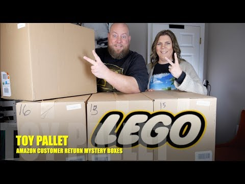 TOYS & LEGO $3564 Amazon Customer Returns Pallet  +  LEGO SETS GALORE