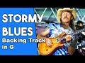 Stormy Monday Blues Backing Track In Gm mp3