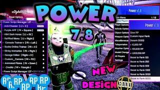 GTA V - MOD MENU POWER v7.8 {{MODDER DETECTOR}} + POWER SCRIPT MANEGER