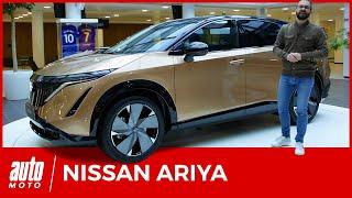 Nissan Ariya : découverte à bord du SUV 100% électrique